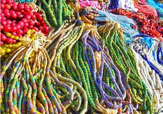 Beautiful African Glass Beads At A Outdoor Market House of Gems, Inc. - Google+ Translucent Glass, Glass Beads, Gems, African, Google, House, Outdoor, Beautiful, Color