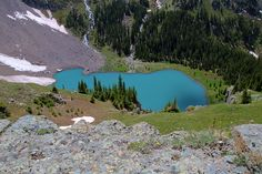 Lower Blue Lake in the Sneffels Wilderness near Ridgway and Ouray, Colorado. Photo by Steve Flowers.