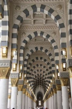 Cordoba, Spain (Inside the Great Mosque)