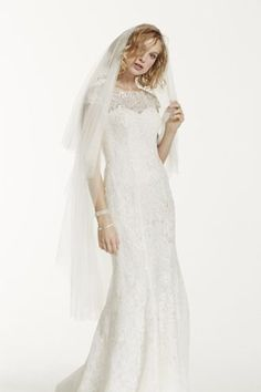 Two Tier Veil, style 7201: $100 David's Bridal