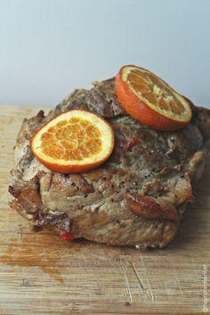 Hoje para jantar ...: Lombo de porco no forno {que não fica seco!}