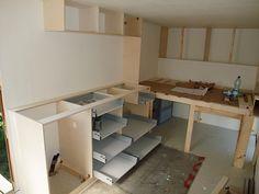 August-September Corner Desk, Camper, September, Loft, Furniture, Home Decor, Europe, 4x4 Camper Van, Homes