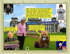 George Rospinus: Riding a bear, Tzar Putin challenge - Chancellor s...