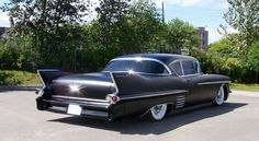 Long and Low '58 Cadillac