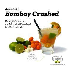 der Bombay Crushed von den freilaufenden Limetten.