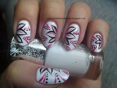 I always love pink black and white together