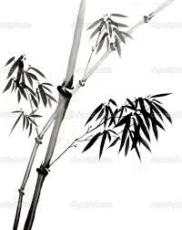 chinese ink painting bamboo