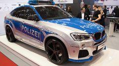 TUNE IT! SAFE! im Jubiläums-Einsatz: Weltpremiere des BMW X4 2.0i xDrive by AC Schnitzer im originalen Polizei-Look