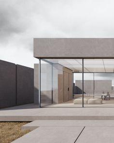 L'architecte et architecte d'intérieur Kanstantsin Remez, basé à Minsk, présente « II Introvert Residence », une habitation moderniste isolée au pied des montagnes dans un lieu pour l'instant tenu secret. Située juste au pied d'une zone montagneuse, la vaste maison est conçue comme un rectangle fermé divisé en trois zones, caractérisées par des blocs et des volumes dans des proportions et des dimensions variables. « L'idée du projet est de créer un espace contemporain qui offrira un…