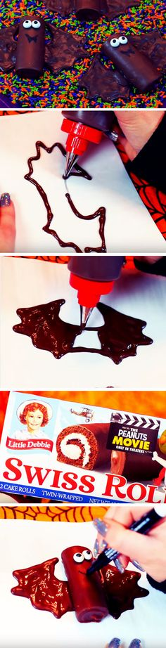 Batty Cakes | 19 DIY Halloween Party Ideas for Teens that are totally…