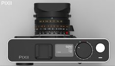PIXII camera update - Leica Rumors Electronic News, Electronic Devices, 35mm Camera, Camera Gear, Best Dslr, Classic Camera, Point And Shoot Camera, New Gadgets, Leica