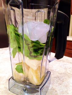 1. Starting the day withgreen juice I've seen photos of green juice all over the internet for years. I've heard people rave about it. And I thought it looked and sounded nasty! Then I tri...