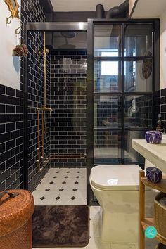 Renovation Journey: Eclecticism in the Tropics | Qanvast #PowderRooms