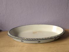 vintage cast iron baking dish Dru Holland by ShoponSherman on Etsy