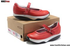 Latest Listing Cheap MBT Women Tunisha Red White Shoes