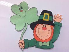 Storytime ABC's: Not a Flannel Friday: Leprechaun, Leprechaun!