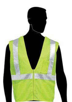 """Liberty HiVizGard Polyester All Mesh Fabric Class 2 Safety Vest with 2"""" Wide Silver Reflective Stripes and 1 Pocket,Fluorescent Lime Green http://www.safetygearhq.com/product/personal-safety/safety-jackets/liberty-hivizgard-polyester-all-mesh-fabric-class-2-safety-vest-with-2-wide-silver-reflective-stripes-and-1-pocketfluorescent-lime-green/"""