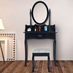 Wooden Dressing Table Set | Wayfair UK