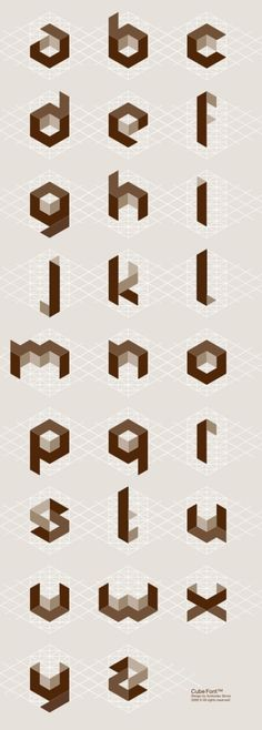 Tipografía Cúbica