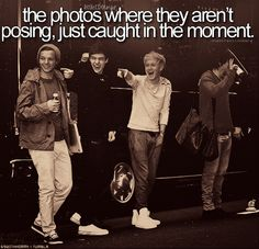 Oh. My. GOSH! I LOVE THEM! Do you see Niall and Liam? They are like totes twinners in this picture and it is SOOOO adorable (: And Their faces crack me up.. I only wish I knew what they were pointing at... :/