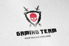 Gaming Team logo v2 by vectorlogos89 on Creative Market