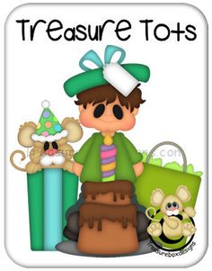 Treasure Tots Birthday Boy - Treasure Box Designs Patterns & Cutting Files (SVG,WPC,GSD,DXF,AI,JPEG)