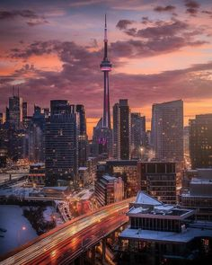 The most beautiful places in Canada: Canada is a country in the northern part of North America. Its ten provinces.The most beautiful places in Canada. Toronto Skyline, Downtown Toronto, Vancouver, City Aesthetic, Travel Aesthetic, Toronto Canada, Torre Cn, Toronto Photography, Toronto Travel