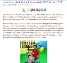 Three Boys and a Dog did a #review of #Lucalashes visits #Mommy in the #hopsital - Check it out!