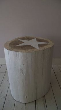 Items similar to table log cm raw solid wood bedside stool side table with white star on Etsy Log Furniture, Furniture Design, Bedside Stool, Log Chairs, Natural Landscaping, Coffee And End Tables, Cottage Interiors, Solid Wood, Home Decor