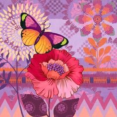Mariposa Peony by Jennifer Brinley   Ruth Levison Design