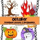 October Preschool Lessons (4 Weekly Units) Series II 212 Pages http://www.teacherspayteachers.com/Product/October-Preschool-Lessons-4-Weekly-Units-Series-II-932855
