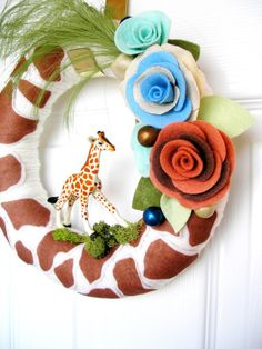 Welcome baby wreath!