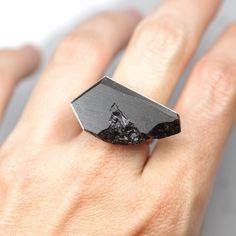 pierścionki i obrączki-karbON Pierścionek Węglowy