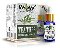WOW 100 Pure Tea Tree Essential Oil 15ml  05 oz Therapeutic Grade  perfect for Aromatherapy -- Learn more by visiting the image link.