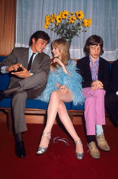 Image result for young mick jagger marianne