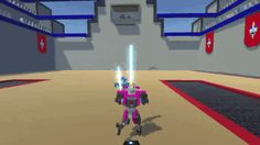 Saw this game on itch.io it reminds me a lot of the Jedi Outcast games [Clone Drone in the Danger Zone]