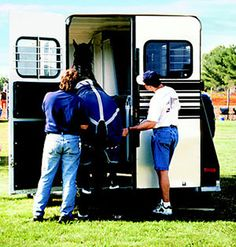 Ready, Set, Haul Want to go horseback riding in a new location? Take heed of these trailering tips and get there safely.