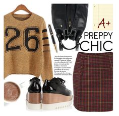 """Preppy Chic"" by pokadoll ❤ liked on Polyvore featuring мода, STELLA McCARTNEY, Parker, Sheinside и shein"
