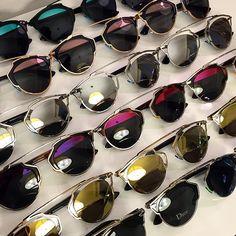 MODA - Após seu lançamento na semana de moda de Paris, o óculos Dior So Real foi…