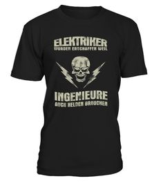 ** ELEKTRIKER LIMITIERTE AUFLAGE ** | Teezily | Buy, Create & Sell T-shirts to turn your ideas into reality