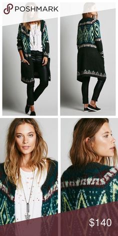 Free people long sweater Brand new,no tag Free People Sweaters Cardigans