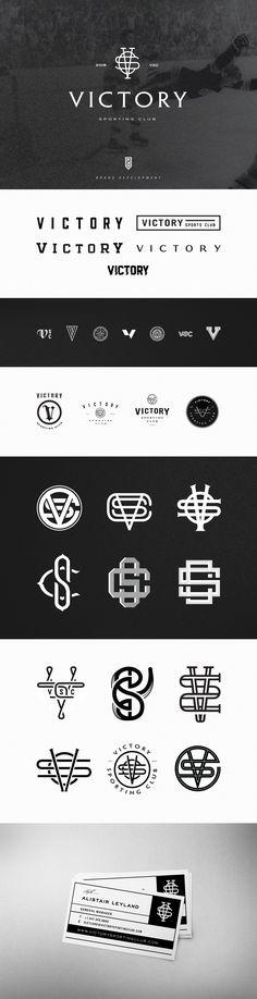 VSC (Victory Sporting Club) — Branding on Behance