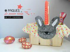 DIY ★ Panier de Pâques récup'