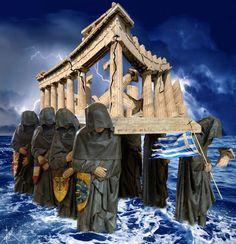 'Griechische Tragödie ' by Harald Fischer