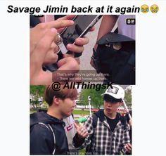 Savage Chim!! Poor Jhope!! D: