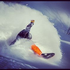 Cold smoke blastin' in the Utah backcountry. no binding = extra fun Grassroots Powdersurfing  #powder #surfing