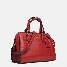 Mini Nolita Satchel in Leather