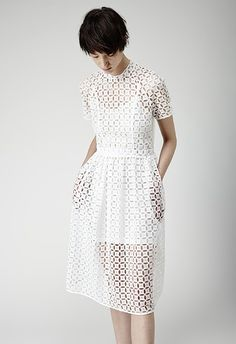 CLEARWATER: Simone Rocha Bit Dot Dress