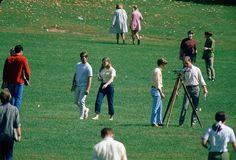 Asphalt walks (1971): The first asphalt walks across the Drillfield—two of them—were poured during the summer of 1971.