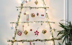 Gestalte Deinen Adventskalender dieses Jahr ganz naturverbunden aus Ästen.
